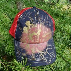 Adult Disney Mickey mouse baseball hat